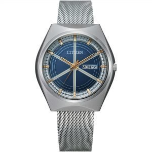 Orologio Unisex Eco Drive Special Edition Crystron 1974 Mesh