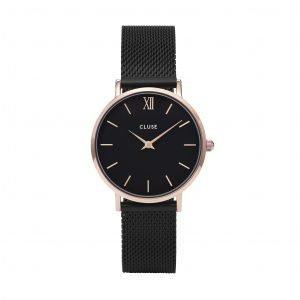 Orologio Donna Minuit Black Mesh