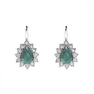 Orecchini Bliss Diamanti Smeraldi Lafayette