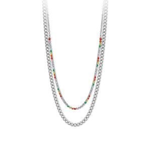 Collana Multicolor Mix & Match