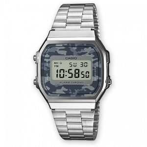 Orologio Unisex Vintage Silver/Camouflage