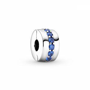 Charm Clip Sentiero Blu