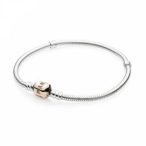Bracciale Pandora Moments con maglia snake Misura 19