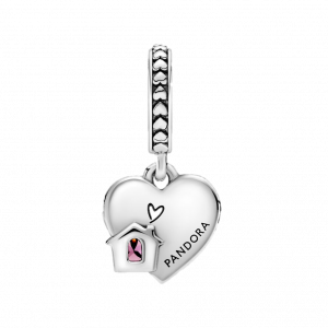 Charm pendente a cuore Love My Home