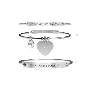 Bracciale Lui e Lei Always & For Ever