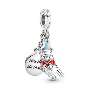 Disney, charm pendente Compleanno di Winnie the Pooh