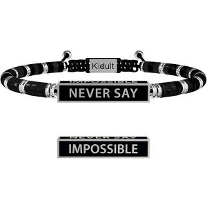 Bracciale Never Say Impossible